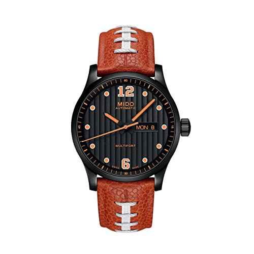 (Mido Multifort Touchdown Special Edition Black Dial Mens Watch)