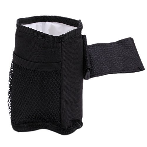 Rollator Idealgo Waterproof Bottle Cup Holder for Stroller Bottle Thermal Bag Baby Buggy Cup Holder Soft Buggy Cup for Stroller Walker Wheelchair