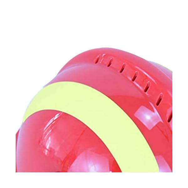 YUYUE21 Casquillo de Seguridad de protección de Casco de Rescate de terremoto con Gafas Sombrero de Bombero 14