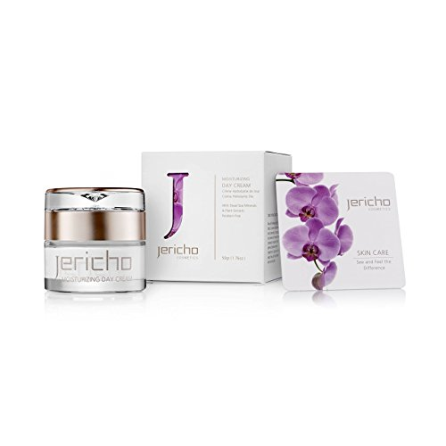 Price comparison product image Jericho - Moisturizing Day Cream - perfect skin care blend of Dead Sea Minerals to make the skin so soft and revitalize the Facial skin and regain its natural moisture - Best Facial Moisturizers