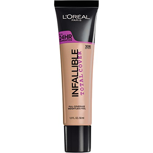 L'Oréal Paris Infallible Total Cover Foundation, Buff Beige, 1 fl. oz.