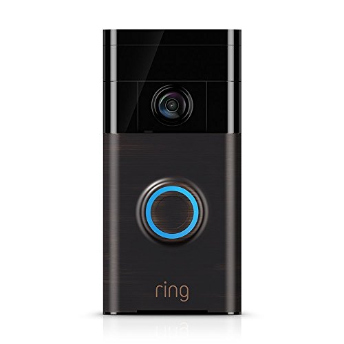 Brand New/Sealed Ring Wi-Fi Smart Video Doorbell with Installation Tools (Venetian Bronze)