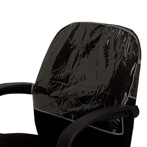 Betty Dain Deluxe Chair Back Cover, Round, Black