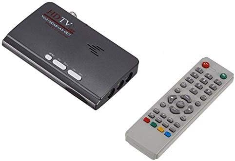 Decodificador de Receptor de señal de TV Digital VGA DVB-T2 Mini decodificador de TV: Amazon.es: Electrónica