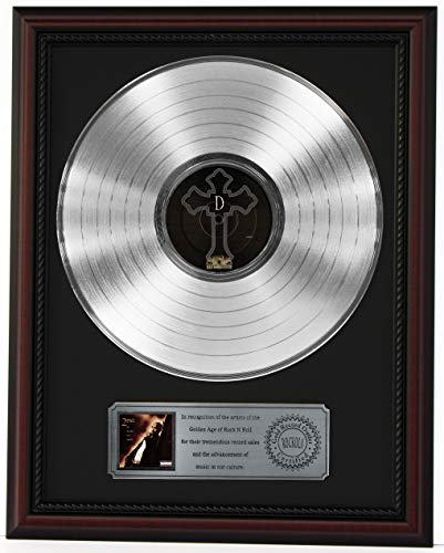 2pac Me Against The World Cherrywood Framed Platinum Lp Display K1