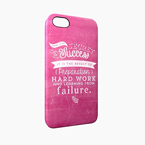Success Is Hard Work And Learning From Failure Glossy Hard Snap-On Protective iPhone 5 / 5S / SE Case Cover