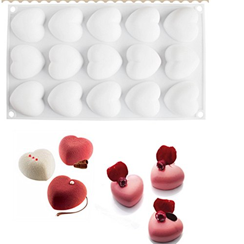 Oven Baking Supplies Heart Shaped Silicone Cake Mold DIY Baking Pastry Tools Mousse Cake Mould Kitchen Bakeware Silicone Katoot by Katoot