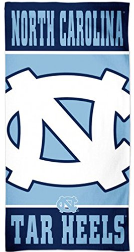 WinCraft North Carolina UNC Tar Heels Beach Towel with Premium Spectra Graphics 30x60 inches