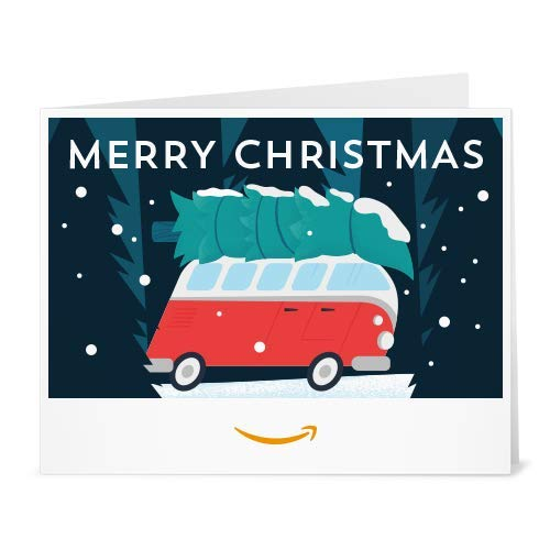 Amazon Gift Card - Print - Christmas Van