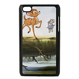 iPod Touch 4 Cell Phone Case Black Bambi II AG6107082