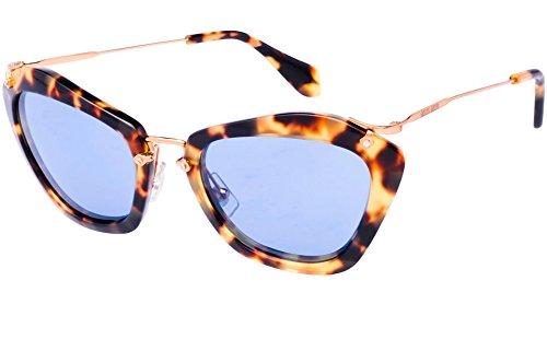 Miu Miu SMU10N Sunglasses 55mm Tortoise / Blue