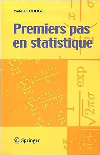 Premiers Pas Statistique