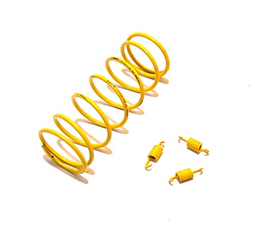 PERFORMANCE 1500RPM TOURGE & CLUTCH SPRINGS FOR CHINESE SCOOTER GY6 125-150CC BAOTIAN ROKETA PEACE BMS BENZHOU YIYING TAOTAO BAJA ZNEN VIP ...