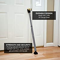 Sabre HS-DSB Door Security Bar Gray