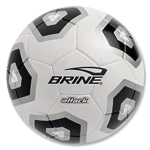 Brine Attack Soccer Ball (Black, 3)