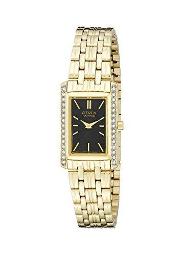 Watch Crystal Quartz Ladies (Citizen Women's Quartz Watch with Crystal Accents, EK1122-50E)