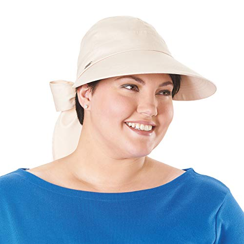 (Women's Wide Brim Sun Hat Provides Uv Protection Upf50 - Tan)