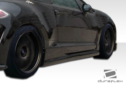 Duraflex ED-SJB-920 Spirit Side Skirts Rocker Panels - 2 Piece Body Kit - Compatible For Mitsubishi Eclipse 2006-2012