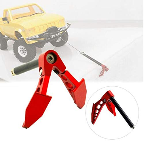 1:10 Foldable Winch Anchor Earth Anchor Decor Tool for RC Car Tamiya CC01 Axial SCX10 RC4WD D90 D110 Accessories