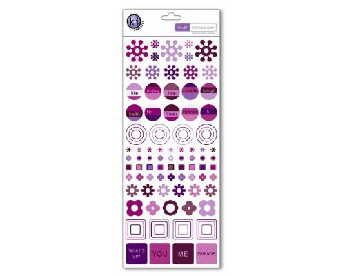 Color Theory Collection - Tattoos Rub-ons - Violet (Rub Ons Tattoos)