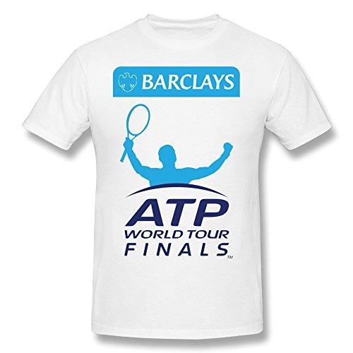 SFMY Men's Barclays ATP World Tour Finals Logo T-Shirts XS ()