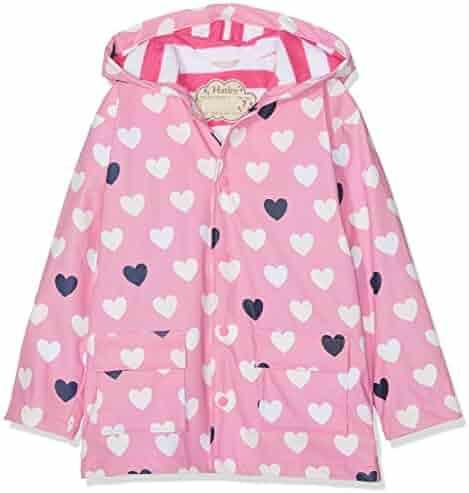 Tassels Kidorable Green Fairy PU All-Weather Raincoat for Girls w//Fun Fairy Treasure Bag Stars