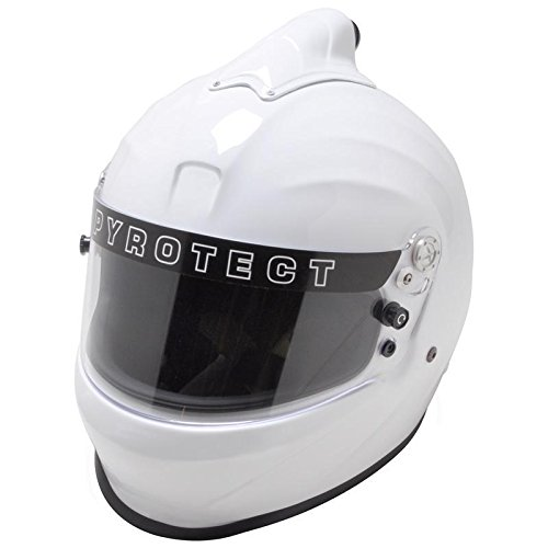 Pyrotect Face Helmet - Pyrotect 8064005 Full Face Helmet, Large, White