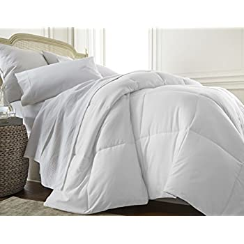 ienjoy Home Collection, Ultra Plush Premium Down Comforter, Twin/X-Large Twin, White