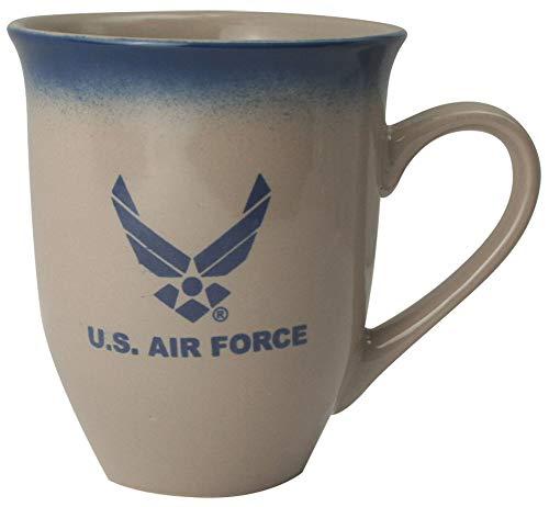 U.S. Air Force Wing Logo 16oz Cream Latte Coffee - Mug Air Coffee Force