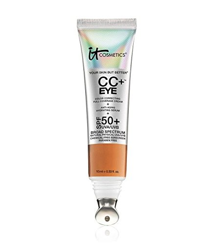 It Cosmetics CC+ Eye Color Correcting Full Coverage Cream Concealer SPF 50+ (Rich) by It Cosmetics