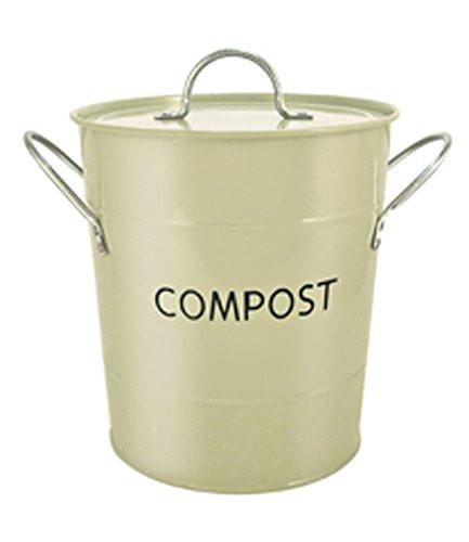 Eddingtons Compost Pail, Sage Green 83010