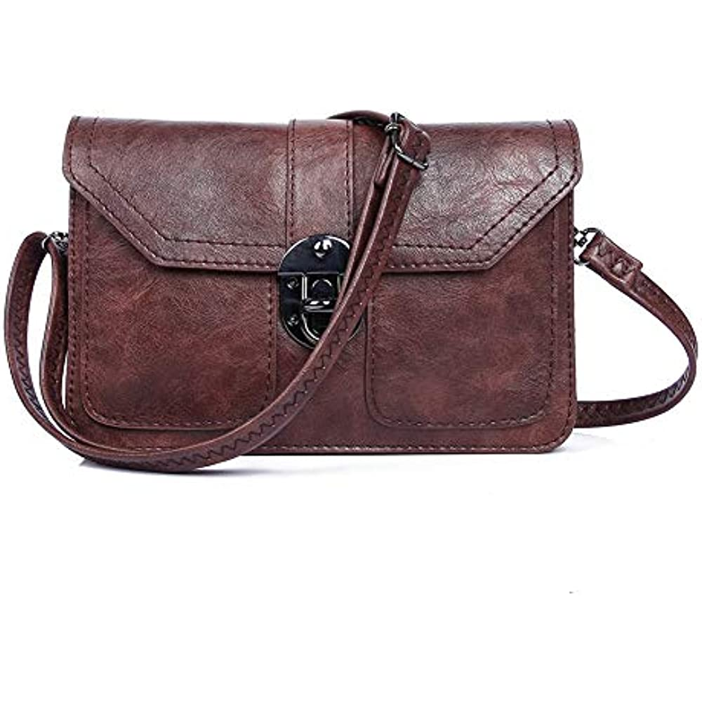 464ac245b80d Details about Women Synthetic Leather Small Crossbody Bag Cell Phone Wallet  Purse Travel Gift