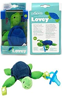 Amazon.com : Dr. Browns Lovey Pacifier and Teether Holder ...
