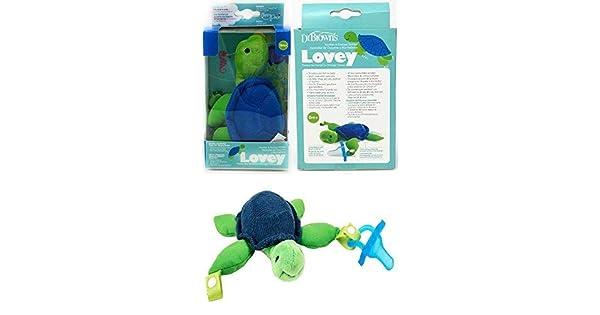 Amazon.com: Dr. Brown s – Tortuga Lovey con chupete de una ...