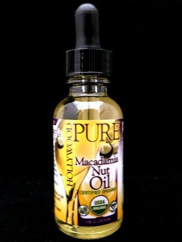 HOLLYWOOD BEAUTY Pure Macadamia Oil, 1 Ounce