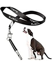 WoofWhistle Professional Ultrasonic Dog Whistle with Lanyard & Adjustable Frequencies Proven Results | Recall & Stop Barking | Effective Way Of Training Any Breed of Dog | Dog Training Whistle