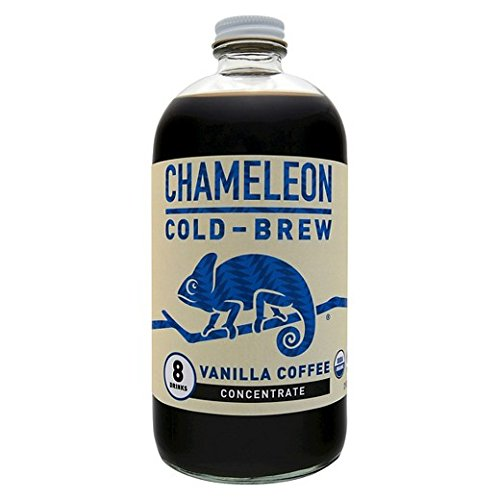 Chameleon Cold Brew Vanilla Coffee Concentrate, 32 Ounce (Pack of 6)