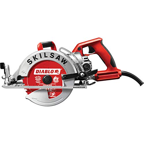 (Skilsaw Magnesium Lightweight Worm Drive Circular Saw - 7 1/4in., 15 Amp, Model# SPT77WML-22)