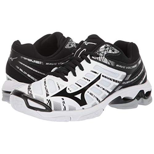 mizuno women's wave lightning z5 indoor court shoe disc tennis