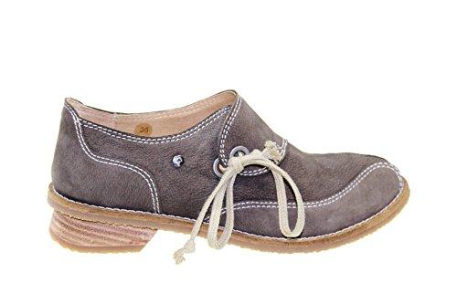 Tiggers - Mocasines de Piel para mujer marrón Cinz