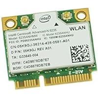 5K9GJ - WiFi Card Intel Centrino-N 6235 Mini PCI-E 300Mbps; 802.11a/b/g/n Half-Height Bluetooth 4.0 XPS 14