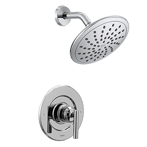 Moen T3002EP Gibson One-Handle Posi-Temp Shower Only Trim without Valve, Chrome by Moen (MOENH)
