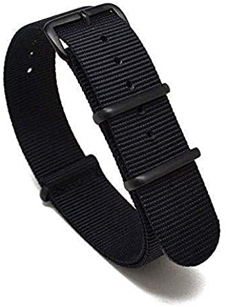 حزام ناتو 18 ملم بي في دي - أسود