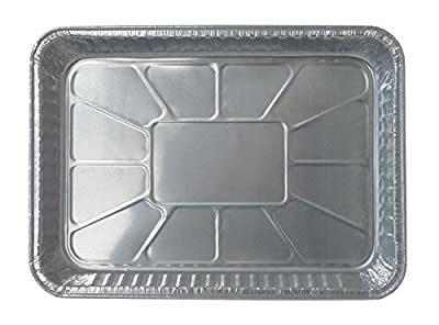 "Durable Packaging 4700-35 Disposable Aluminum Cake/Baking Pan, 13"" x 9"" (Pack of 250)"