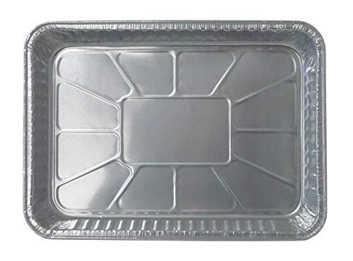 Durable Packaging Disposable Aluminum Cake/Baking Pan, 13'' x 9'' (Pack of 250) by Durable Packaging