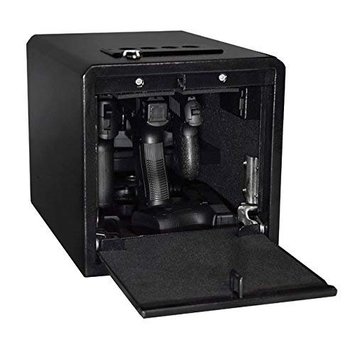 STEALTH Handgun Hanger Safe Quick Access Electronic Pistol Security Box New and Improved (Renewed)