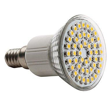 RTS E14 3528 SMD 48-LED bombilla de color blanco cálido 120 – 150LM luz