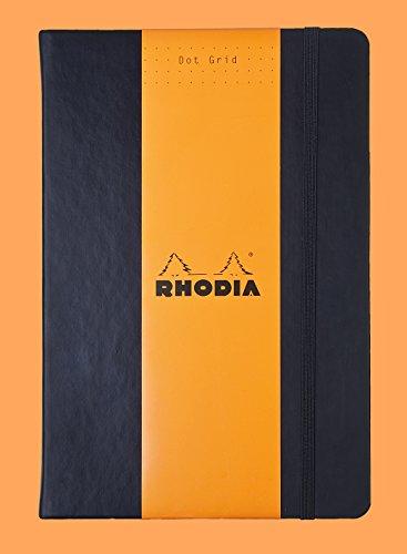 - Rhodia A5 Webnotebook, Dot, Black