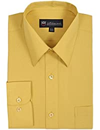 Amazon.com: Gold - Dress Shirts / Shirts: Clothing, Shoes & Jewelry
