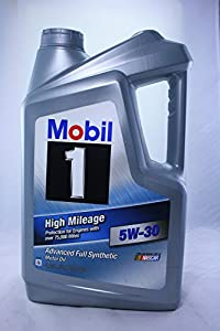 Mobil 1 high mileage advanced full synthetic for Best high mileage synthetic motor oil